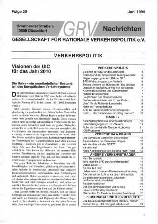 Titelblatt Folge 20