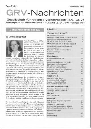 Titelblatt Folge 61 / 62