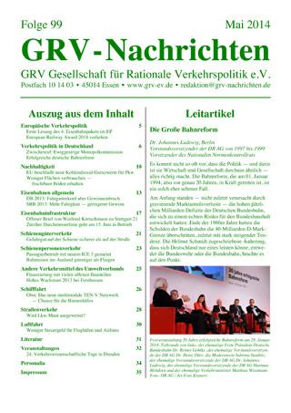 Titelblatt GRVN 99