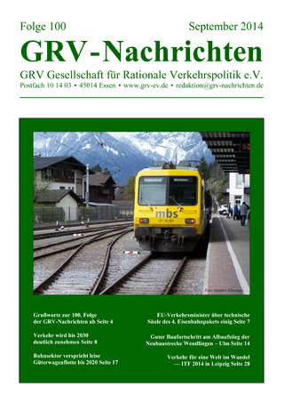 Titelblatt GRVN 100