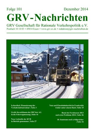 Titelblatt GRVN 101