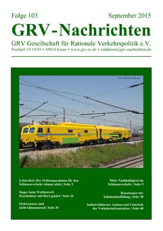 Titelblatt GRVN 103