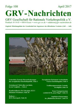 Titelblatt GRVN 108