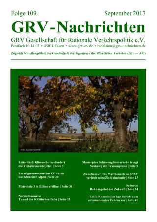 Titelblatt GRVN 109
