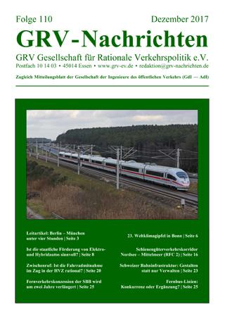 Titelblatt GRVN 110
