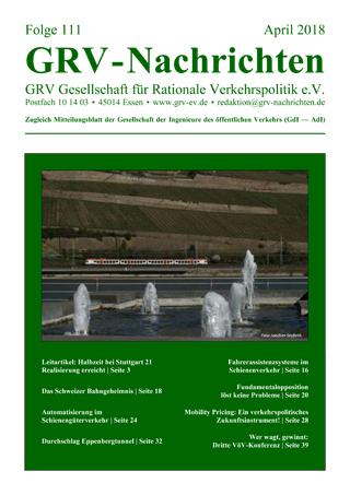 Titelblatt GRVN 111