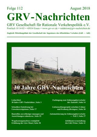 Titelblatt GRVN 112