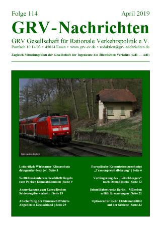 Titelblatt GRVn 114