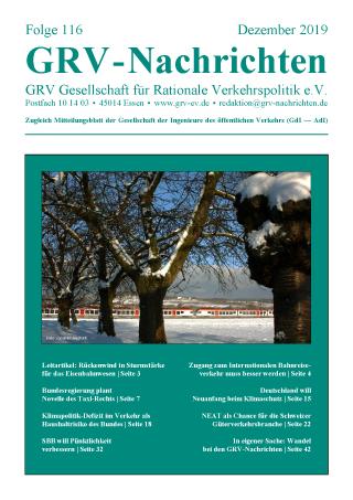 Titelblatt GRVN 116